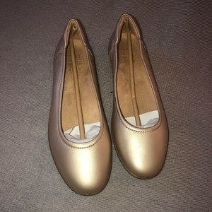 Naturalizer Champagne Flexy Ballet Flat